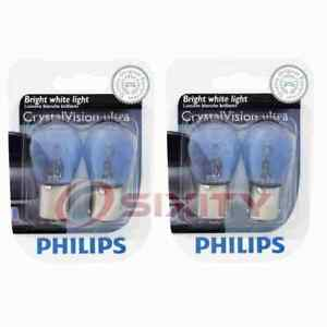 2 pc Philips Back Up Light Bulbs for Honda Accord Civic Civic del Sol CRX wq