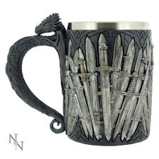 NEW STEIN OFFICIAL GAME OF THRONES SWORD TANKARD 14cm NEMESIS NOW DRINKWARE