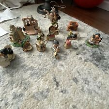 Lot of 13 Enesco Friends Of A Feather Figurines
