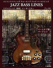 Constructing Walking Jazz Bass Lines Book II - Rhythm Changes in 12 Keys Bass Ta