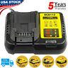 For Dewalt New DCB112 12V-20V MAX Lithium Battery Charger 20 Volt Drill Driver
