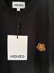 BNWT Black Kenzo T Shirt Size S RRP £90
