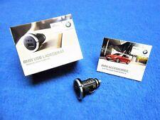 Orig. BMW USB Ladegerät NEU Adapter Anzünder 1er e81 e82 e87 e88 F20 F21 2166411