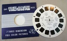 Vintage Viewmaster - Sawyer's Single Reel 1995 Grand Duchy of Luxemburg #1 C1955