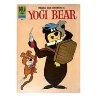 Yogi Bear (1959 series) #8 in Very Good condition. Dell comics [*e3]