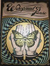 Widespread Panic Knoxville Poster Helton Status Serigraph Metallic Variant