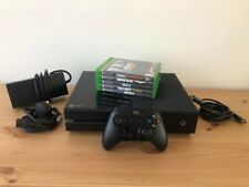 Xbox One 500GB With Controller & 5 Games - Perfect Condition - No Reserve