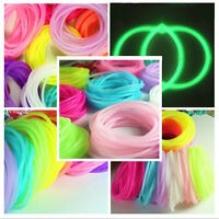 Fashion 5Pcs silicone elastic rubber band Bracelet wristband Bangles、 Z0HWC