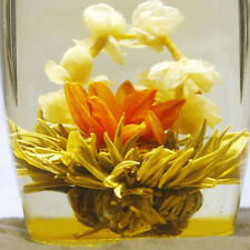 Hand Tied Individually Wrapped Jasmine Flowering / Blooming Tea Balls WB
