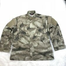 "TRU SPEC TACTICAL RESPONSE UNIFORM SHIRT / JACKET SIZE L ""NWOT"" CAMO 50613-ATA2"