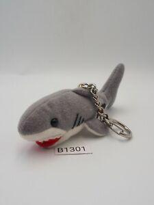 "Jaws Shark B1301 Universal Studio Japan 3.5"" Mascot Strap Plush Toy Doll Japan"
