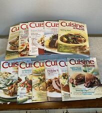 Lot of 11 Cuisine at Home Magazines Mixed Set 2006-2008