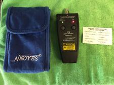 NOYES VF12 LIGHT SOURCE AFL Fiber Optic Test Equipment