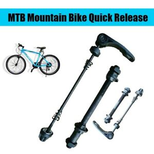 New Bicycle Skewer Hollow Axles Set MTB Mountain Bike Quick Release Front & Rear