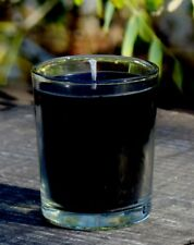 40hr BLACK ROSE & OUD WOOD Scent SOY Jar Votive Candle Relaxtion Spiritual Gift