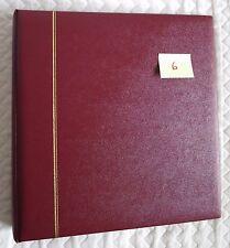 SAFE DUAL album reliure morocco favorit 14 anneaux Bordeaux 704-1 comme neuf (6)