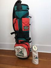 the original bushwacker golf bag Caddy dolphins edition Vintage Collectors