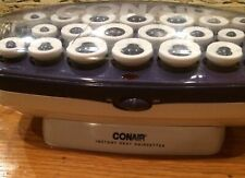 Conair Hot Rollers Instant Heat Hairsetter 3 Sizes Curlers w Clips.  Model CHV21