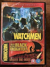 WATCHMEN+TALES OF THE Negro CARGUERO ~ ALAN MOORE 2009 Double Bill GB DVD