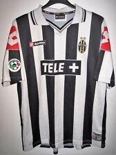 #10 DEL PIERO 2000-2001 JUVENTUS HOME JUVE TRIKOT SHIRT LOTTO CALCIO ITALIA XL