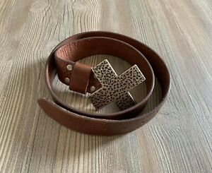 Guess Leather Belt Size 34