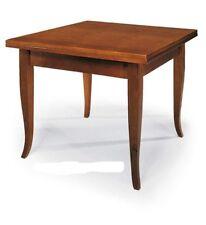 Tavolo quadrato massello in vendita ebay for Tavolo allungabile quadrato 120x120