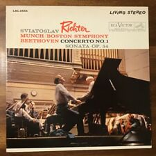 RCA LIVING STEREO LSC 2544 SD RICHTER MUNCH Beethoven CTO 1 SCARCE N/M