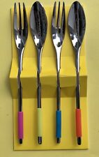 Living Hankook ALLO Le Corbusier Colorful Tea Forks and Spoons NEW!