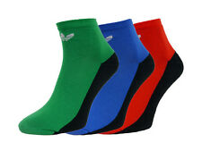 Unisex Adidas Originals Ankle Socks Trefoil 3Pack Casual  UK 5,5-8 | EUR 39-42