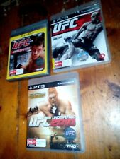 Play Station 3 UFC Undisputed 3 games set