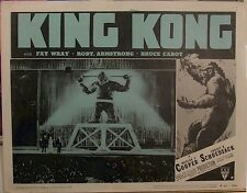 KING KONG MOVIE POSTER VINTAGE LOBBY CARD FILM POSTER