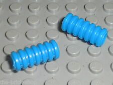 2 x Tube Gaine LEGO Technic Blue Ribbed Hose 2L ref 78 / set 8444 Air Enforcer