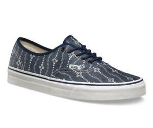 VANS Authentic (Indigo) Mood Indigo Navy Blue White Mens Skate Sneakers