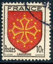 STAMP / TIMBRE FRANCE OBLITERE N° 603  BLASON / LANGUEDOC