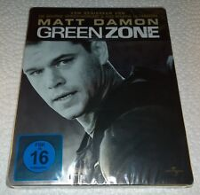 Green Zone (2010, Germany, Region Free) Debossed Steelbook NEW