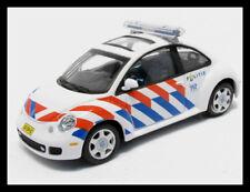 "wonderful Dutch policecar  VW NEW BEETLE 2005 ""POLITIE"" - white - scale 1/43"