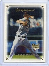 2007 UD Masterpieces Andrew Miller RC Tigers