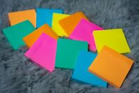 """Sticky Notes 24 pack 3"""" x 3"""" self stick 6 Bright Assorted Colors 100 sheets/pad"""