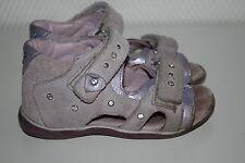 DÄUMLING Sandalen echt Leder Halbschuhe Freizeitschue Sandale Gr.24 UVP 56,95