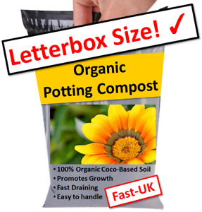 INDOOR PLANT COMPOST 🌺 CHILLI, SEED, HERBS & FLOWER SOIL DISC ✉️ 1 - 3 LITRES