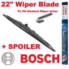 """Bosch 22"""" Inch Super Plus Universal SPOILER Wiper Blade SP22S For Hooked Wiper A"""
