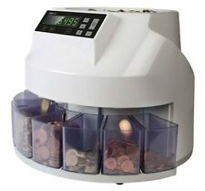 More details for safescan 1250e euro automatic coin counter and sorter open box