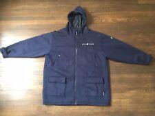 Rocawear XXL Blue Hood Coat 90s Rap Hiphop JayZ Winter Streetwear 00s Roca Wear
