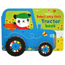 Baby's Very First Tractor Book (Baby's Very First Books) by Fiona Watt Book The