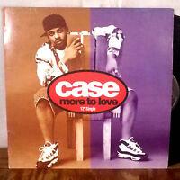 """Case More to Love 12"""" Maxi Single rap hip hop promo VG+"""