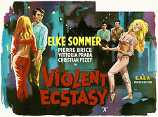 Violent Ecstasy - 1962 - Movie Poster