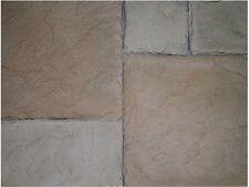 4 Plastic Molds for Concrete - Flagstone Patio Paver Cement Forms