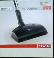 Genuine OEM Miele SEB 217-3 Canister Vacuum Electric Power Head Nozzle S S