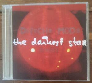 DEPECHE MODE The Darkest Star Rare CDr Promo single XL12BONG37