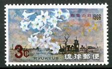 RYU KYU (JAPAN) - 1966 - 5° giornata nazionale.
